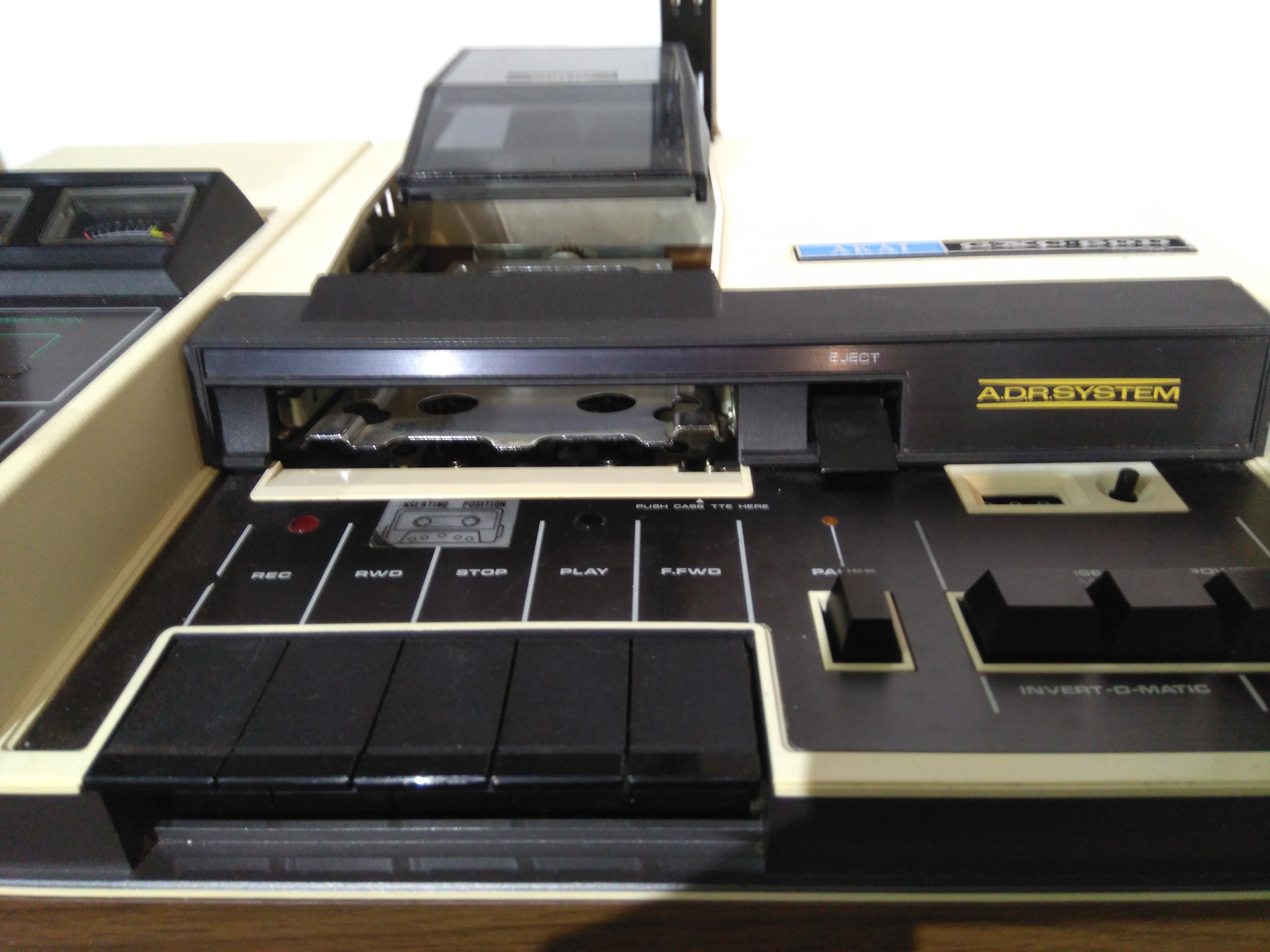 Akai Gxc 60d Tape Player