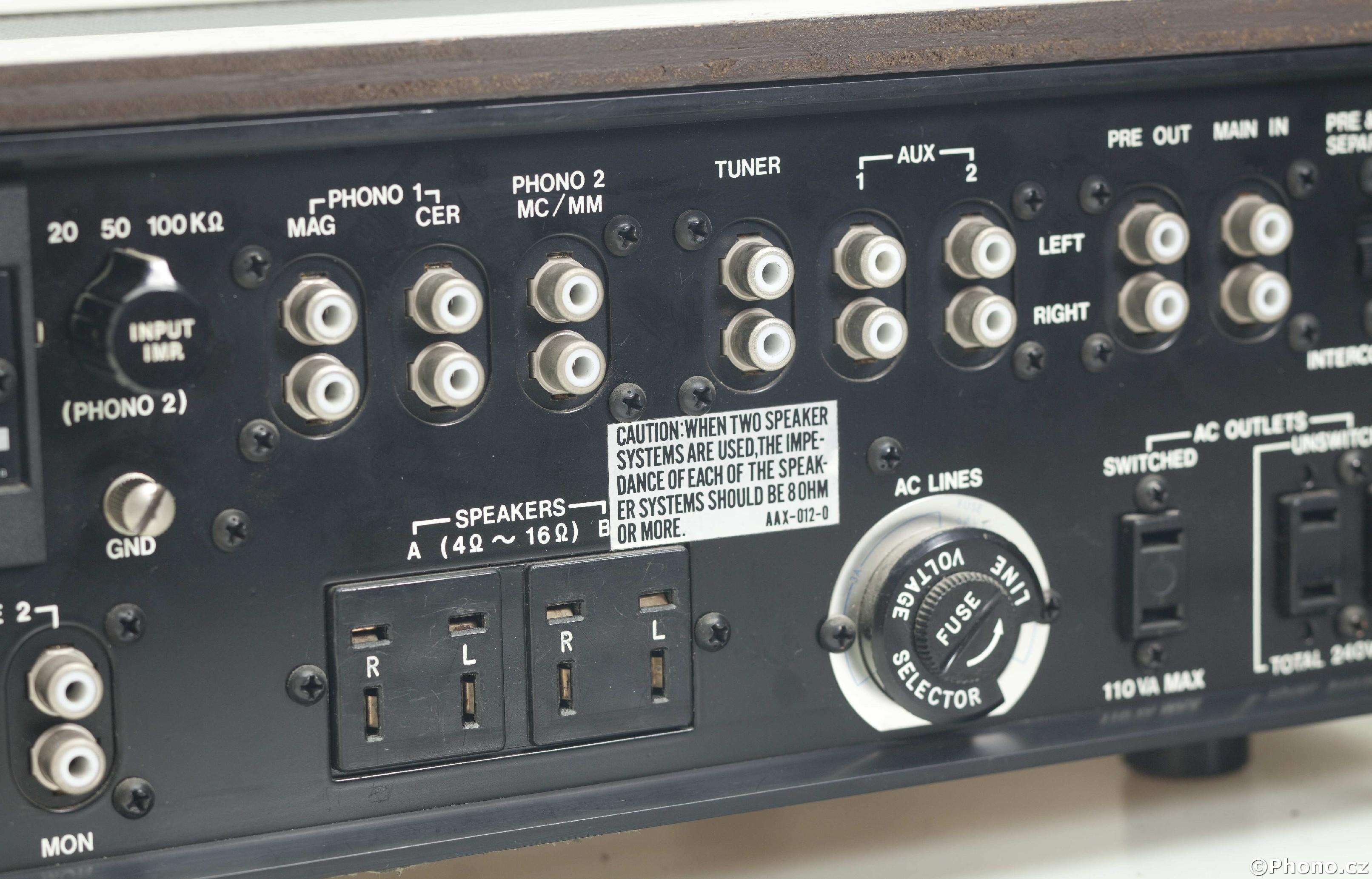 Pioneer Sa 1000 Hi Fi System
