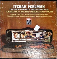 Itzhak Perlman - The Great Romantic Violin Concertos