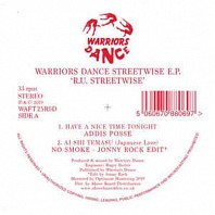 Warriors Dance Streetwise E.P. (R.U. Streetwise)