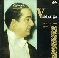 Various Artists - Donizetti, Rossini, Verdi - Giuseppe Valdengo, Prague National Theatre Orchestra ‎– Italian Arias