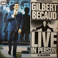 Gilbert Bécaud - Live In Person At The Olympia
