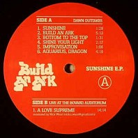 Build An Ark - Sunshine E.P.