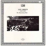 Lee Green - (1929-1937) The Remaining Titles