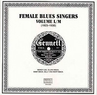 Female Blues Singers Volume L/M (1923-1930)