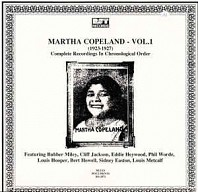 Martha Copeland - Vol.1: (1923-1927) Complete Recorded Works In Chronological Order