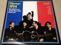 Django 1934 - First Recordings Of The Hot Club Of France