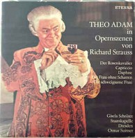 Theo Adam in Opernszenen von Richard Strauss