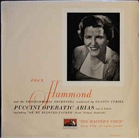 Joan Hammond - Puccini Operatic Arias Sung In English