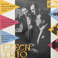 Various Artists -  Maurice Ravel, Dmitri Shostakovitch ‎– Trio In A Minor / Trio In E Minor