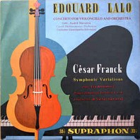 Various Artists - Eduard Lalo - Concerto For Violoncello And Orchestra / César Franck - Symphonic Variations