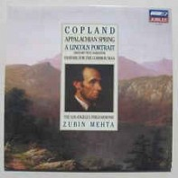Aaron Copland - Appalachian Spring / A Lincoln Portrait / Fanfare For The Common Man