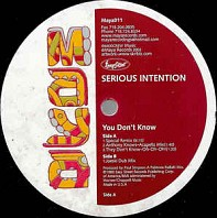 Serious Intention - You Don't Know