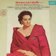 Various Artists - Montserrat Caballé, Alexis Weissenberg - Turina, Montsalvatge, Strauss ‎– Canto A Sevilla | Five Songs | Fifteen Songs