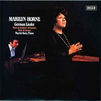 Various Artists - Marilyn Horne ‎– German Lieder