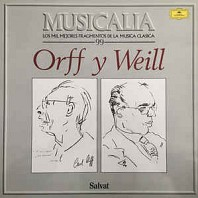 Various Artists - Musicalia 99. Orff Y Weill