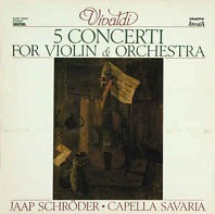 5 Concerti For Violin & Orchestra