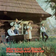 Jan Rokyta And His Cymbalom Ensemble - Moravian And Slovak Folk Songs And Dances