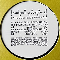 Simbad - Peaceful Revolution EP