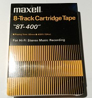 Maxell - 8-Track Cartridge Tape