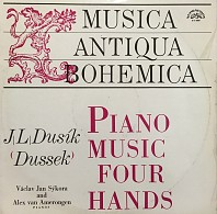 Jan Ladislav Dusík - Compositions for piano four hands