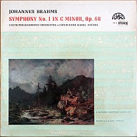 Johannes Brahms - Czech Philharmonic Orchestra - Symphony No. 1 In C Minor, Op. 68