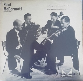 Various Artists - Paul McDemott string quartet - Haydn: Quartet in D major (The Lark); Felix Werder: String Quartet No. 5