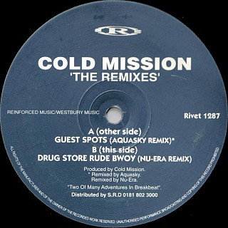 Cold Mission - Guest Spots / Drug Store Rude Bwoy (The Remixes)