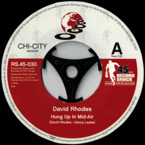 David Rhodes - Hung Up In Mid-Air / Hung Up In Mid-Air (Paolo Scotti & Giacomo Silvestri Disco Mix)
