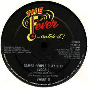 Sweet G - Games People Play