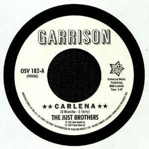 Just Brothers / The Honey Bees - Carlena / Let's Get Back Together