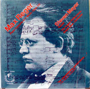 Max Reger - Steven Mayer, The Hague Philharmonic, Ernest Bour - Piano Concerto In F Minor, Opus 114