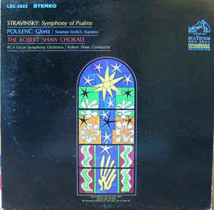 Stravinsky / Poulenc -  Symphony Of Psalms / Gloria