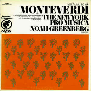 Claudio Monteverdi - Vocal Music Of Monteverdi