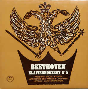 Beethoven, Friedrich Gulda - Piano Concerto Nr. 5 In E Flat Major, Op. 73: