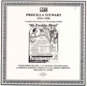 Priscilla Stewart - (1924-1928) Complete Recordings In Chronological Order