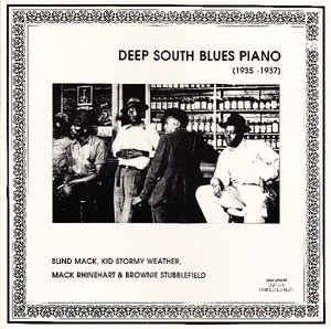 Various Artists - Deep South Blues Piano (1935-1937)