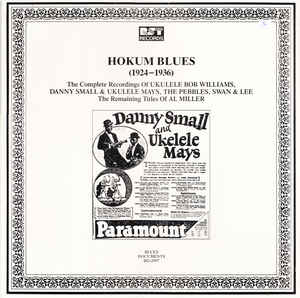 Various Artists - Hokum Blues (1924-1936)