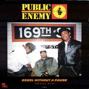 Public Enemy - Rebel Without A Pause (Vocal Mix)