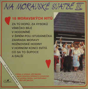 Various Artists - Na Moravské svatbě III. / At Moravian Wedding 3
