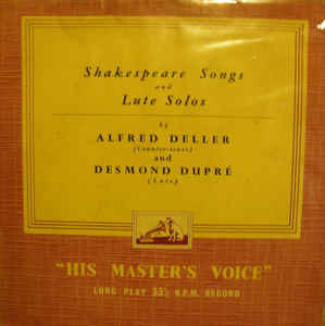 Various Artists - Shakespeare Songs And Lute Solos