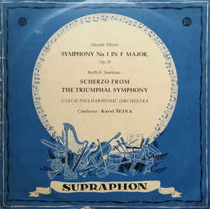 Various Artists - Symphony No. 1 In F Major / Scherzo From The Triumphal Symphony