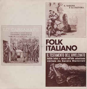 Various Artists - Folk Italiano