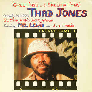Thad Jones - Swedish Radio Jazz Group* Featuring