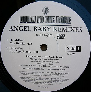 Down To The Bone - Angel Baby Remixes