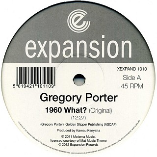 Gregory Porter - 1960 What?