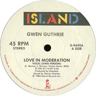 Gwen Guthrie - Love In Moderation