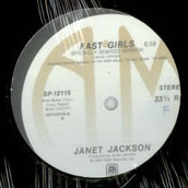 Janet Jackson - Fast Girls / French Blue