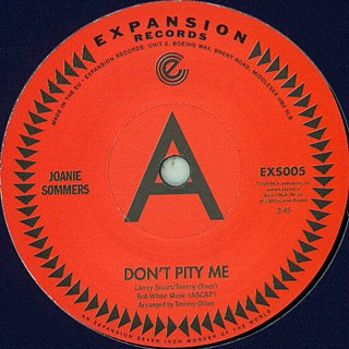 Joanie Sommers - Don't Pity Me / My Block