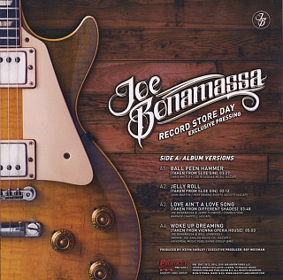 Joe Bonamassa - Record Store Day - Exclusive Pressing